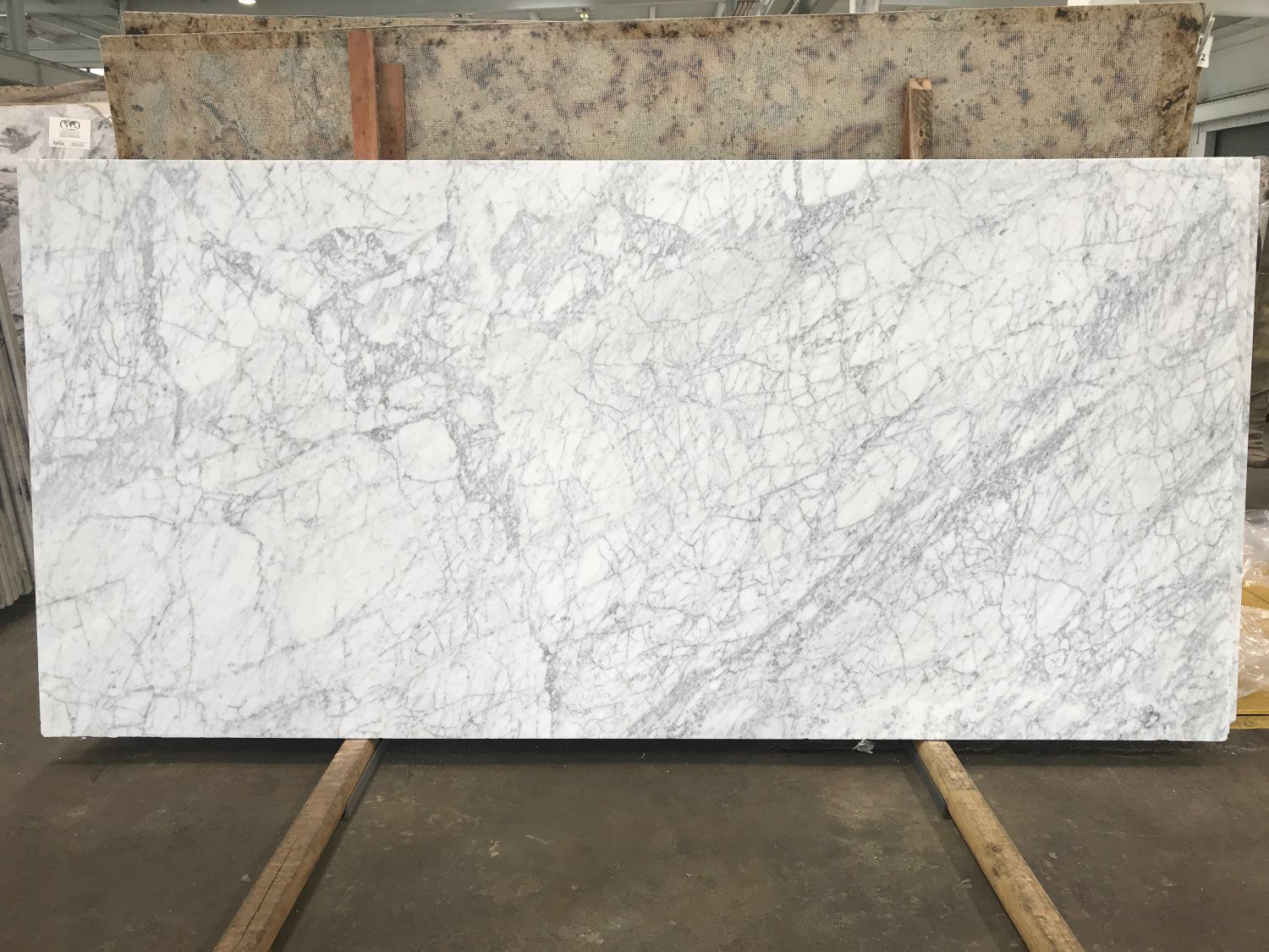 White Carrara Honed